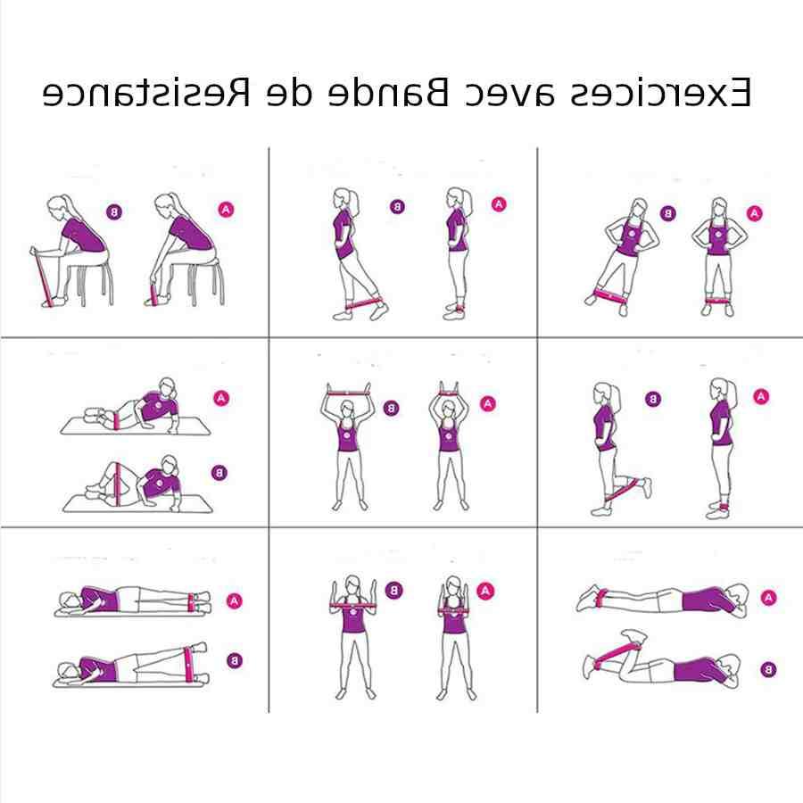 Comment muscler son corps avec un elastique ?