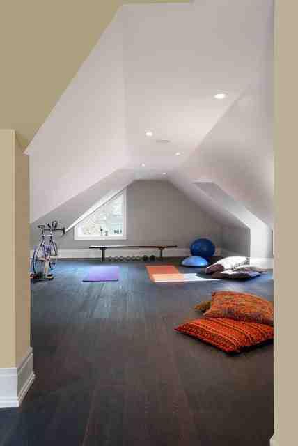 Quel sol pour une salle de sport maison ?