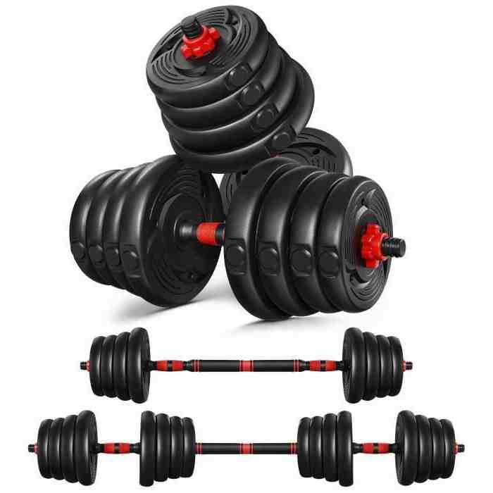 Comment se muscler avec des haltères de 5 kg ?