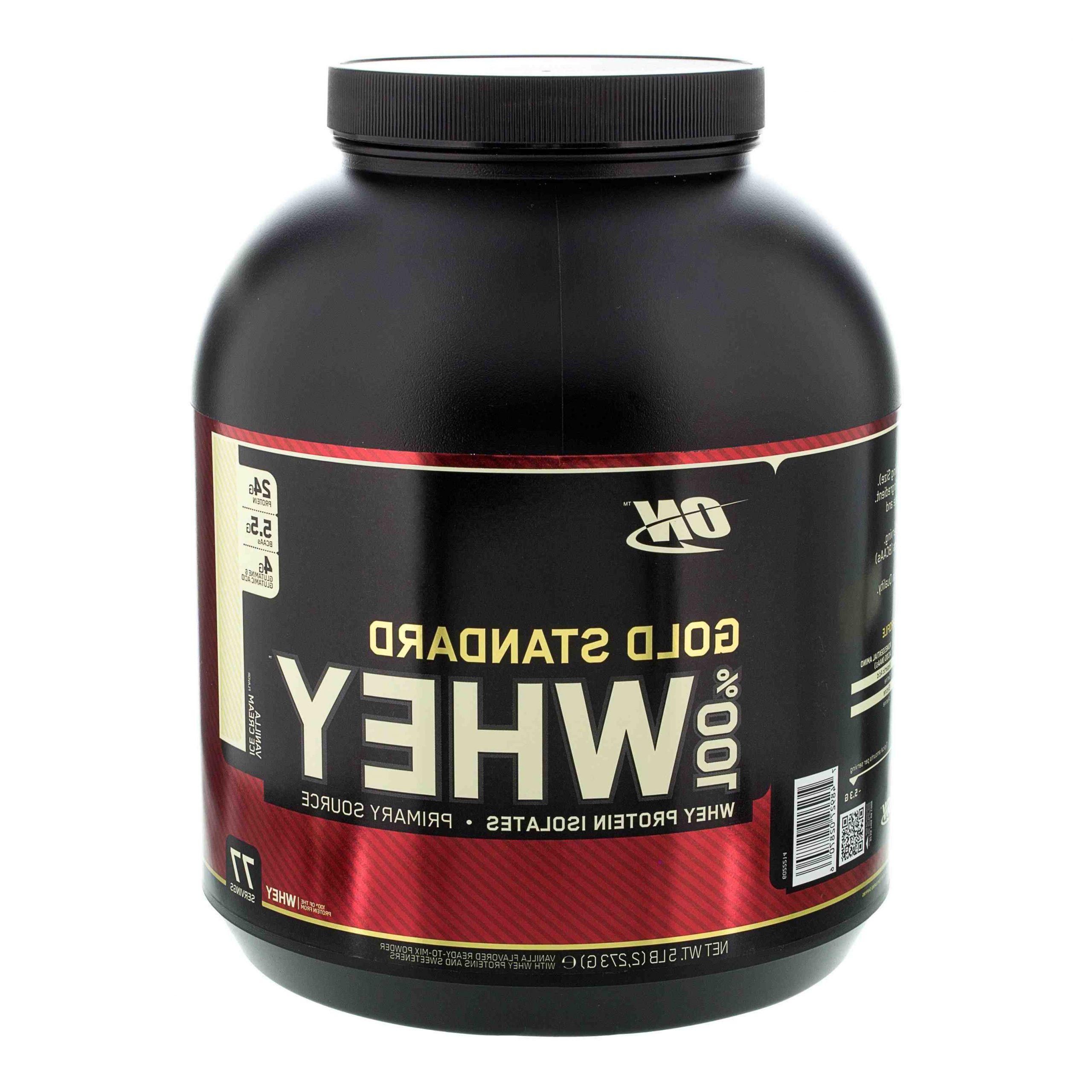 Comment utiliser le protéine Whey Gold Standard ?